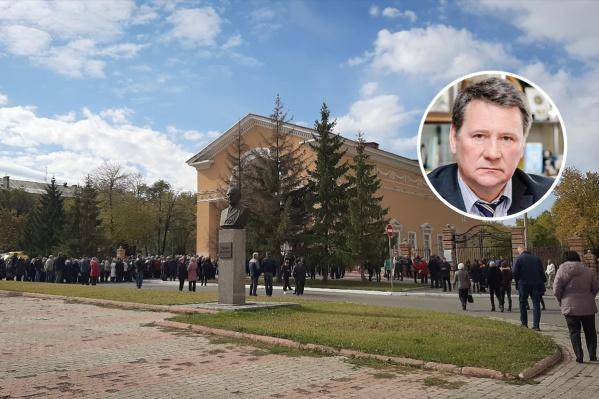 Владимир Фомин умер 24 сентября