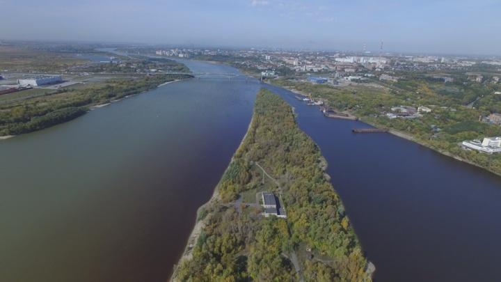 В Омске за 45 миллионов продают земельный участок на Зелёном острове