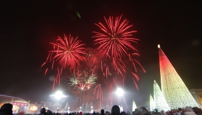Отгуляли: более 130 тысяч человек посетили новогодние локации в Самаре