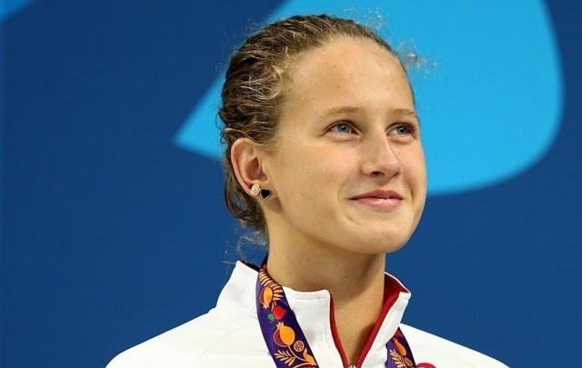Башкирская спортсменка Полина Егорова завоевала 12 медалей по плаванию