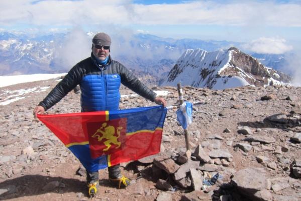 Вершина Аконкагуа (6962м), Аргентина. Высшая точка Южной Америки