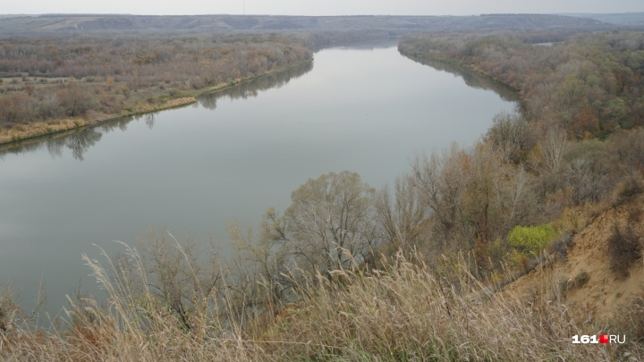 Уровень воды в реке Дон начал восстанавливаться