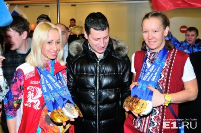 С Паралимпиады в Сочи Михалина Лысова (слева) и Анна Миленина (справа) привезли 11 медалей