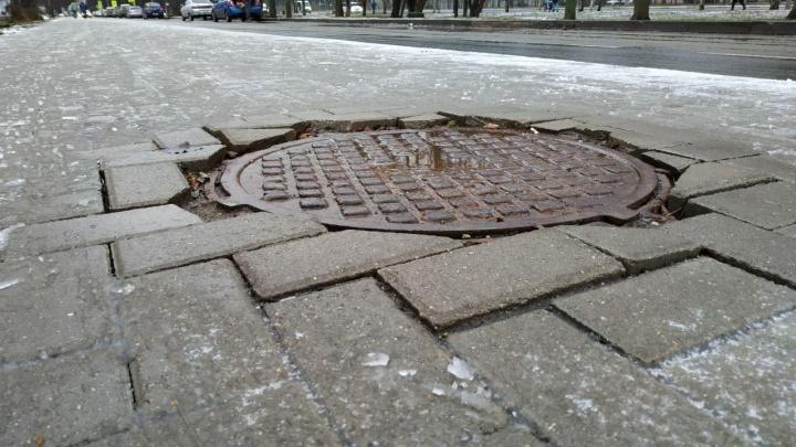Общественник выявил девять недочетов в ремонте проспекта Дзержинского в Ярославле