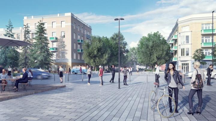«Даже Лондон позавидует»: красноярцам показали, как будет выглядеть центр города