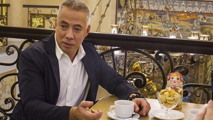 Известный ресторатор Аркадий Новиков посетил «Сандуны» в Новосибирске