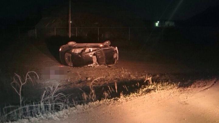 В Башкирии пьяный водитель Renault Megane улетел в кювет, погибла пассажирка