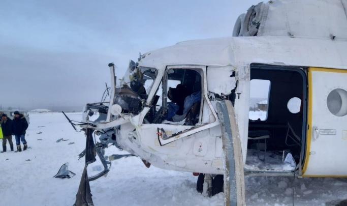 Медики рассказали о состоянии здоровья вахтовиков с упавшего на севере вертолета
