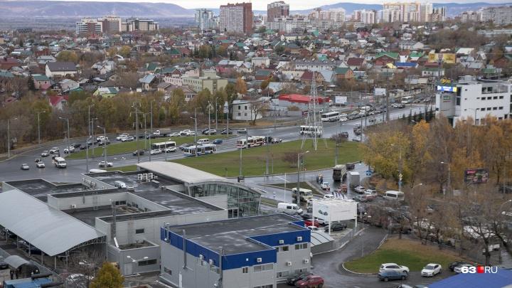 Архитекторы Самары предложили продлить улицу Авроры до Волжского проспекта