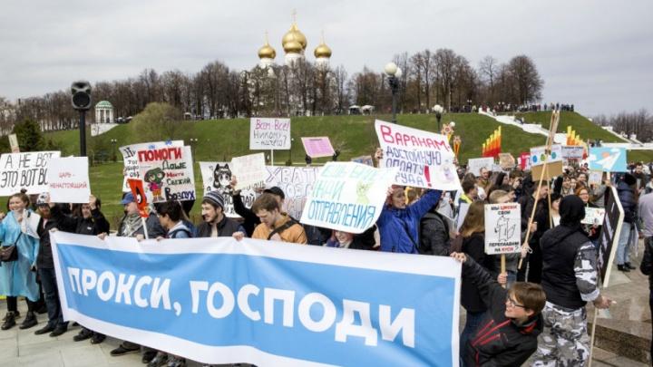 Вернули из сада: власти рассказали, где пройдёт монстрация в Ярославле