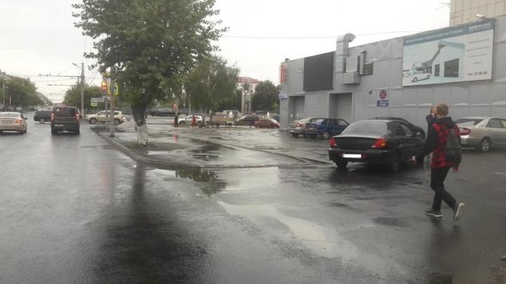 На дорогах Кургана за сутки пострадали два пешехода