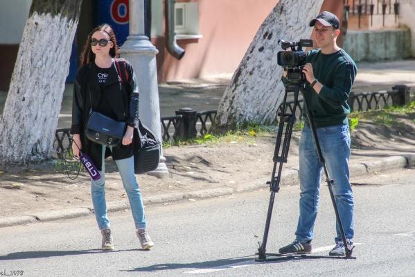 Журналист СТВ Наталья Лунина — автор сюжета, в котором губернатор говорит о «шелупони»