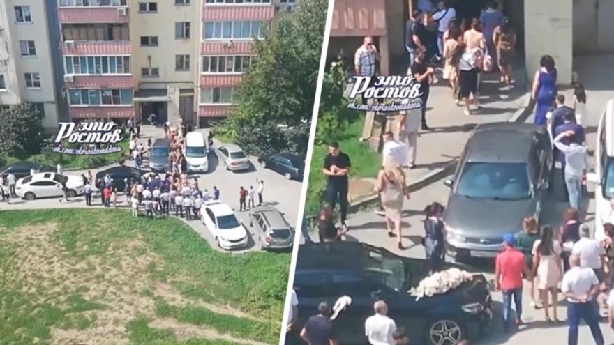 В Ростове свадебный кортеж открыл стрельбу