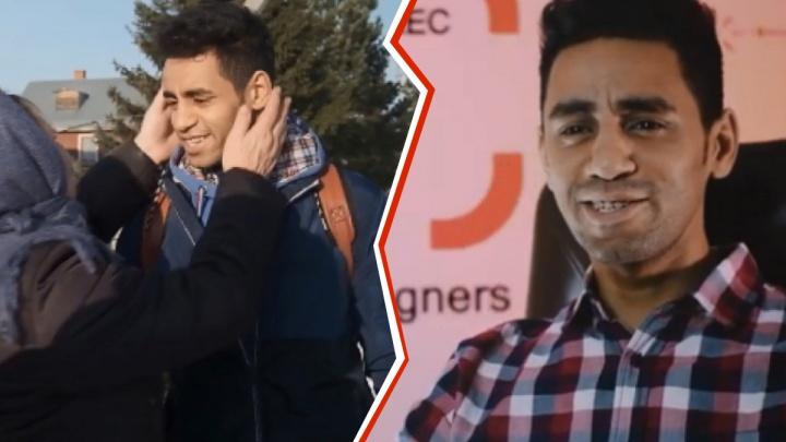 Алжирец в Абалаке: тюменцы сняли сериал про иностранцев, путешествующих по России