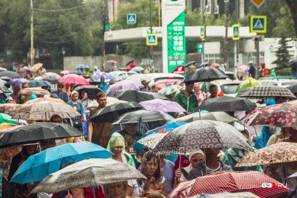 Синоптики рекомендуют горожанам запастись зонтами