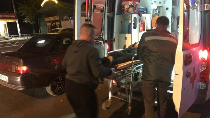 «Шагнул на красный»: в Самаре на проспекте Кирова «десятка» сбила мужчину