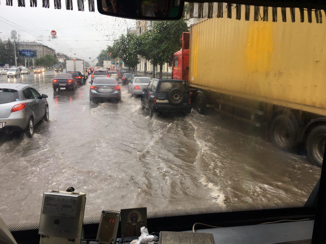 Последствия дождя. Фото читателя