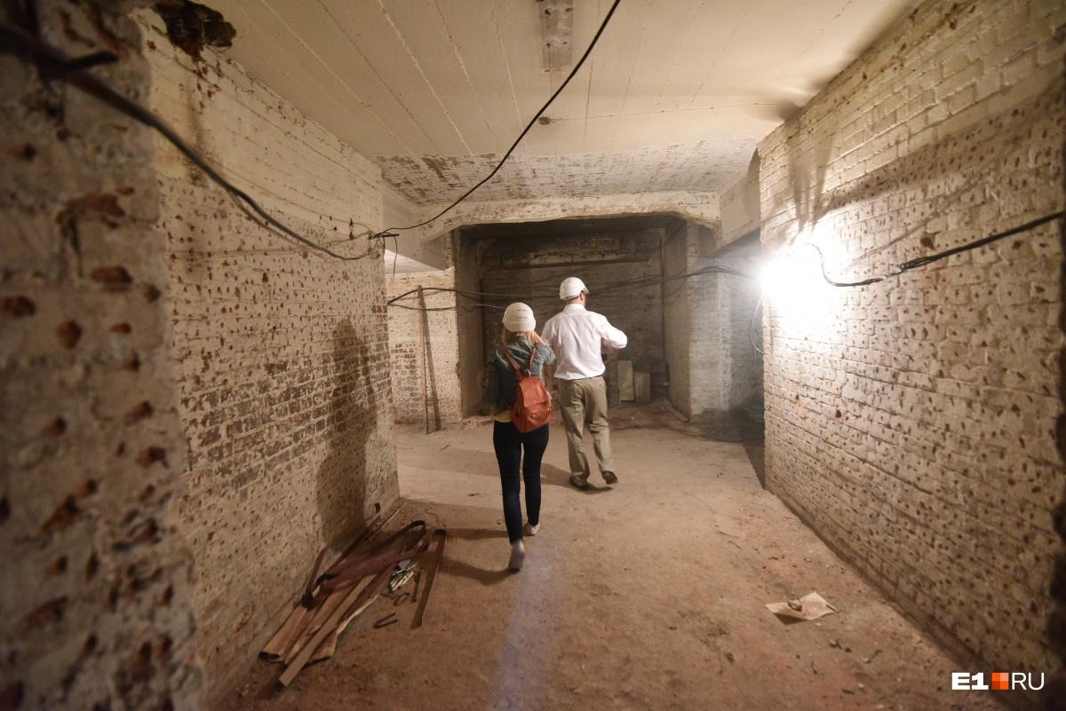 Попасть в подвальные помещения «Эрмитаж-Урала» смогут только сотрудники