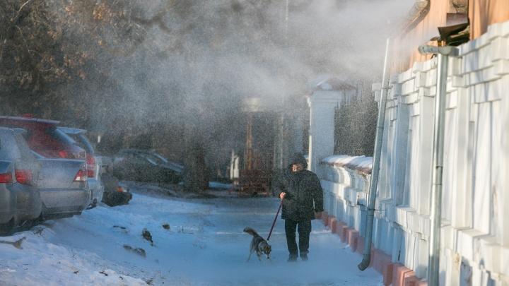В Красноярск идут штормовые ветра