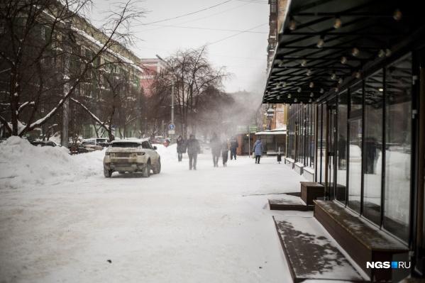 Новосибирцы отважно сражаются со стихией