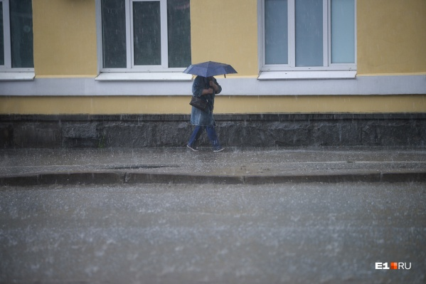 Ожидаются грозы, сильные дожди, град и шквалистое усиление ветра