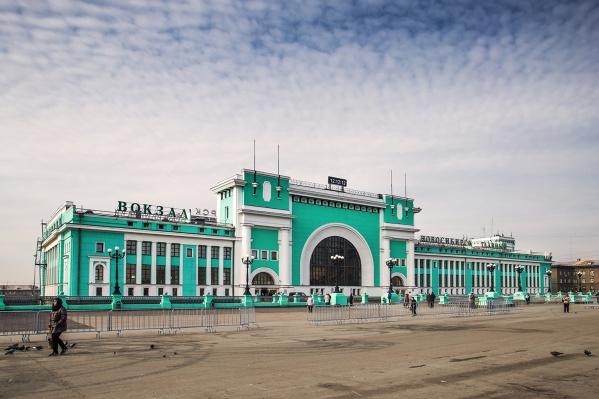 За сегодняшний день это второе опоздание на станцию Новосибирск-Главный