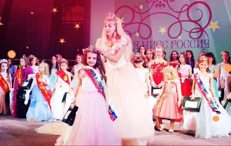 6-летняя красноярка завоевала титул «Юная Мисс Российская Федерация 2017»