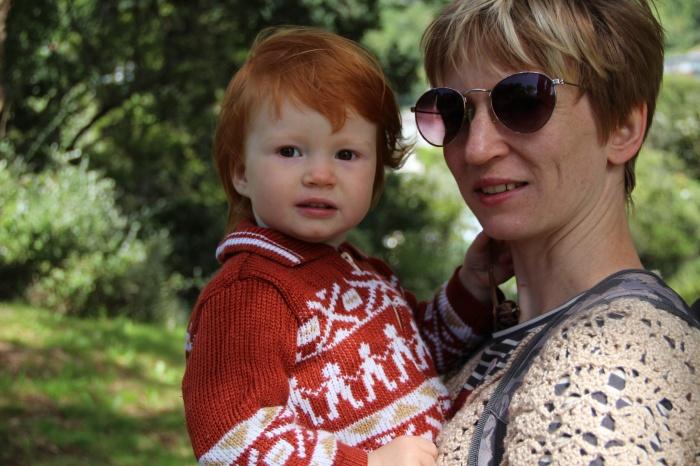 Татьяна с дочкой
