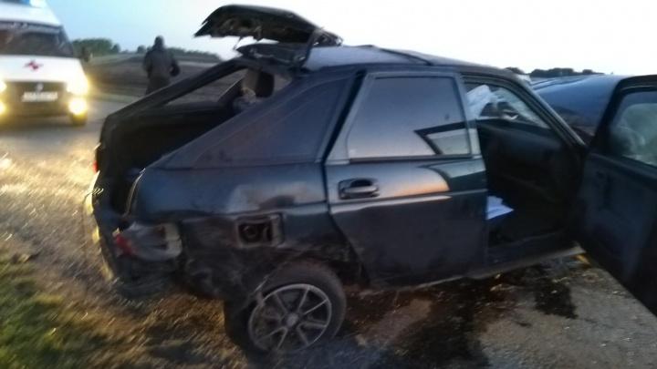 В Шадринском районе легковушка вылетела с трассы: два человека погибли