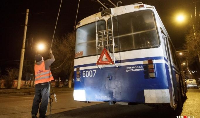 Обещали, что не будут трогать: в Волгограде демонтируют контактную сеть троллейбуса №18