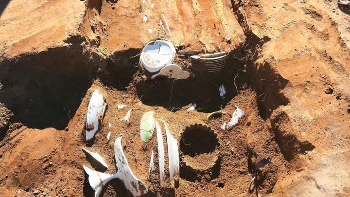 Найденный в центре Перми старинный сундук принадлежал рестораторам Трутневым