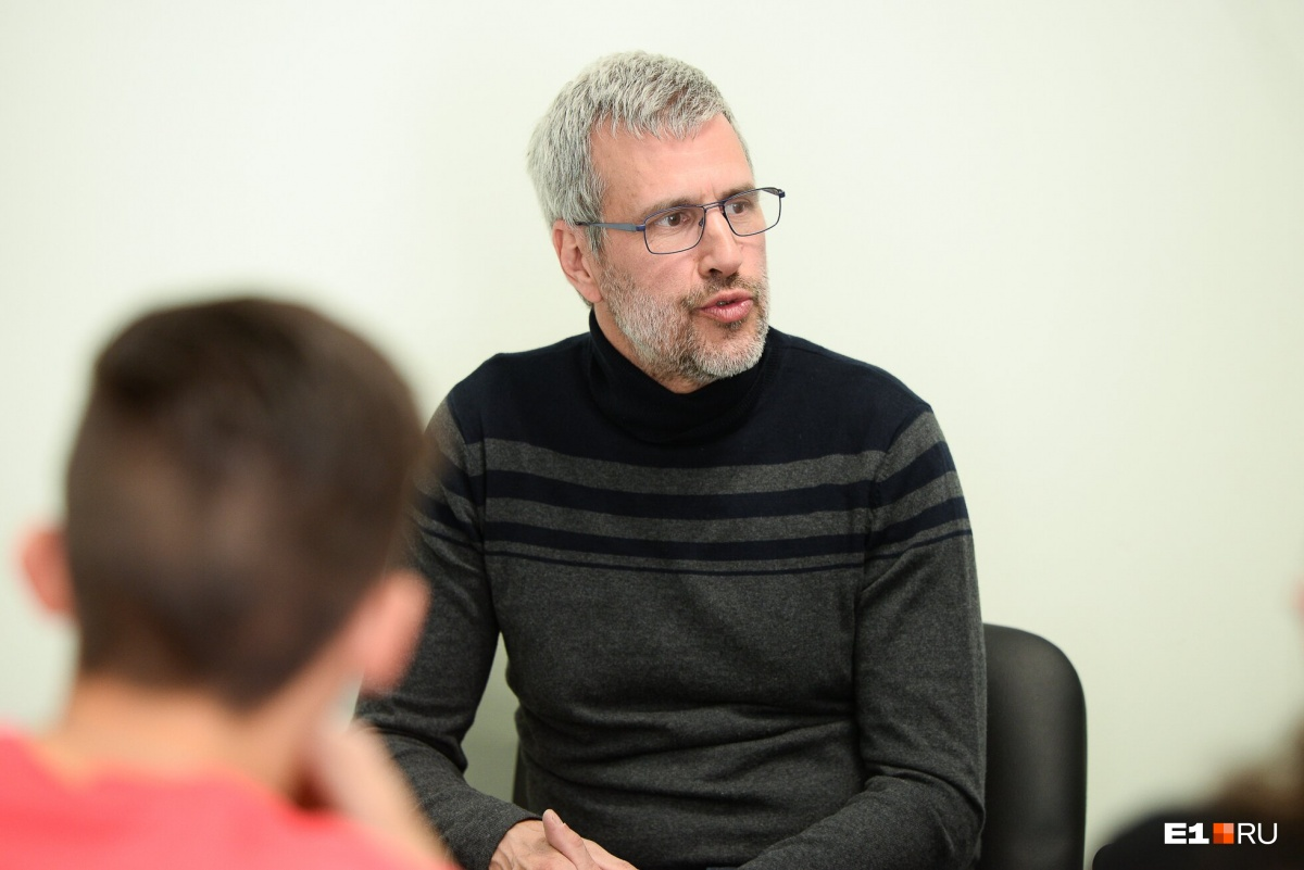 Учитель Тьерри уже восьмой раз приезжает в Екатеринбург и каждый раз находит чему удивиться
