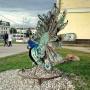 В Уфе вандалы обезглавили павлина