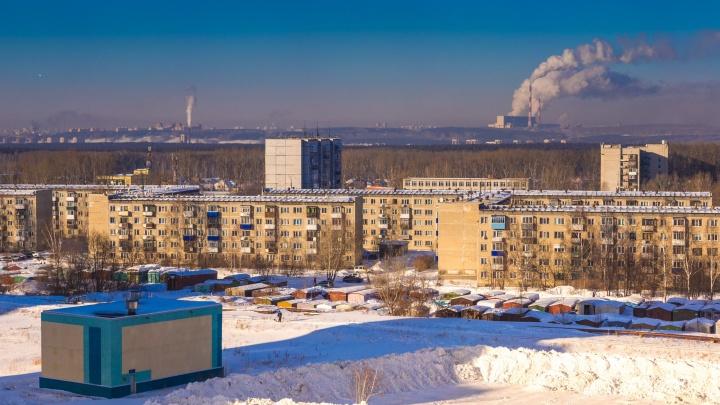 Новосибирцы пришли в администрацию и узнали, что бывшую военную базу хотят застроить многоэтажками