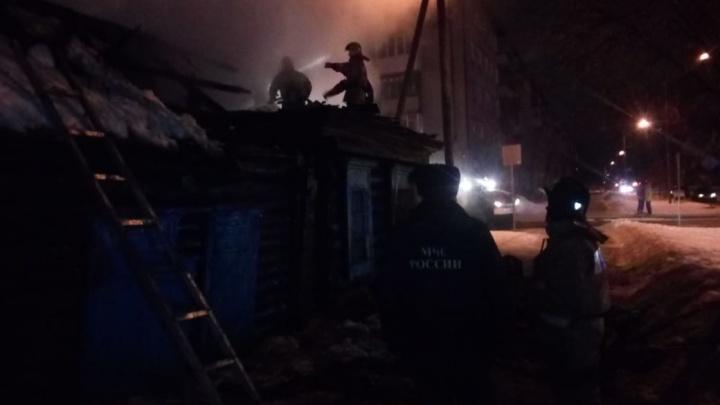 В Кургане при пожаре в частном доме погиб мужчина