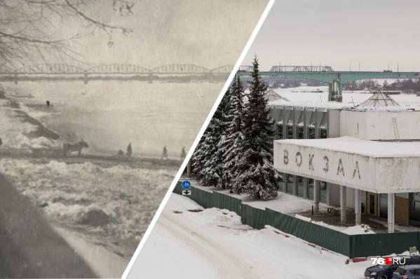 С годами на Волжской набережной в Ярославле многое изменилось