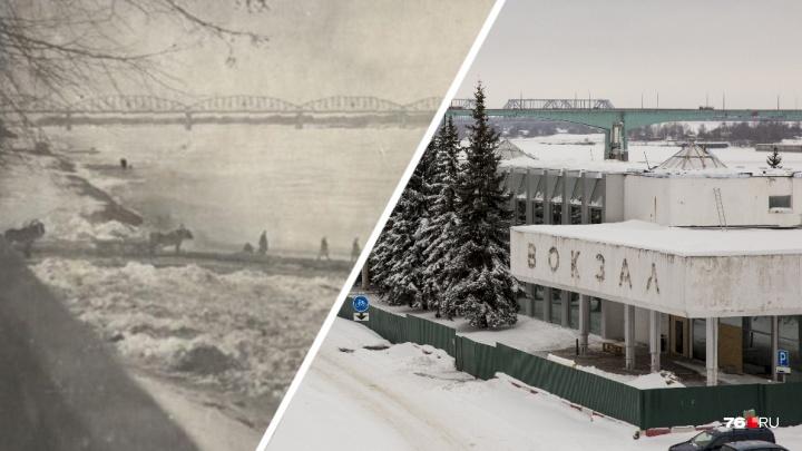 Перекраивали мосты и церкви: смотрим, как изменился Ярославль. Часть первая