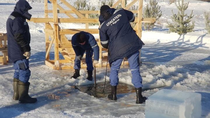 Нырять можно: Роспотребнадзор проверил воду в официальных купелях в Зауралье