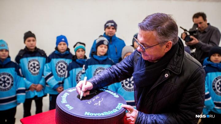 Есть контракты, спонсоры: Рене Фазель заявил, что перенести чемпионат из Новосибирска невозможно