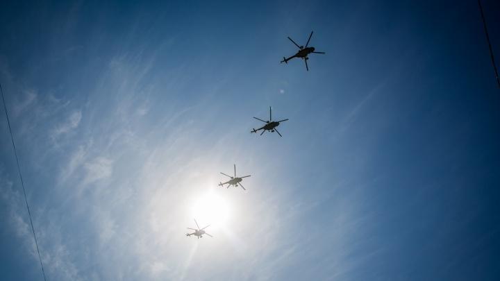 Боевые вертолёты устроят стрельбы на полигоне под Новосибирском