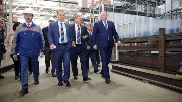 «Инвесторы будут»: Вадим Шумков и полпред Николай Цуканов посетили индустриальный парк в Кургане