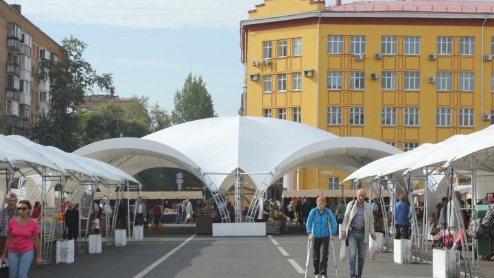 Со спецлабораторией: в мэрии назвали дату открытия ярмарки на площади Куйбышева