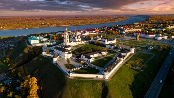 20 кадров, после которых вам захочется съездить в Тобольск: таким город вы еще точно не видели