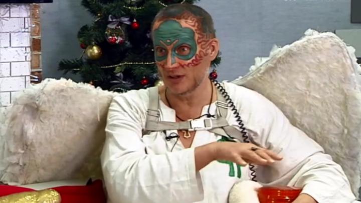 «Мне придал ускорения волшебный пендель»: Древарх рассказал о Шиесе на украинском телевидении