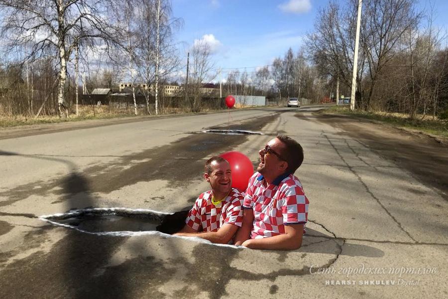 В Ярославле вообще много мест для тематических фото