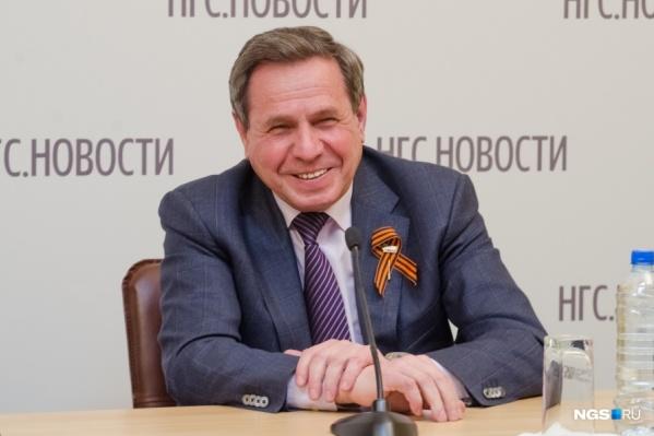 Владимир Городецкий стал самым богатымсенаторомот НСО