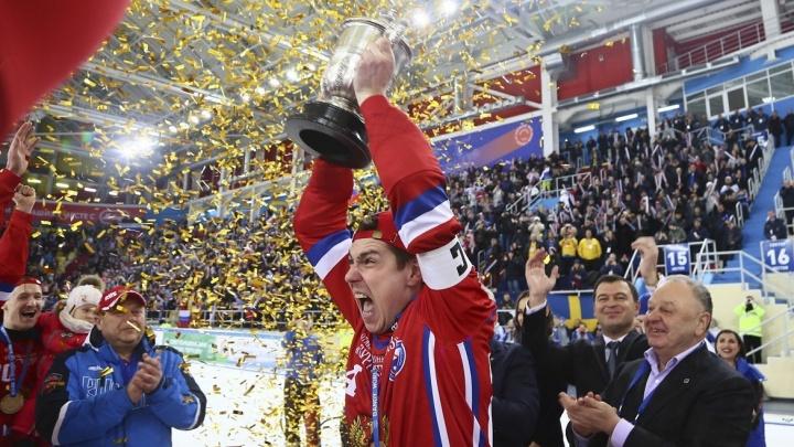 Воспитанник свердловской школы хоккея с мячом помог сборной России победить на чемпионате мира