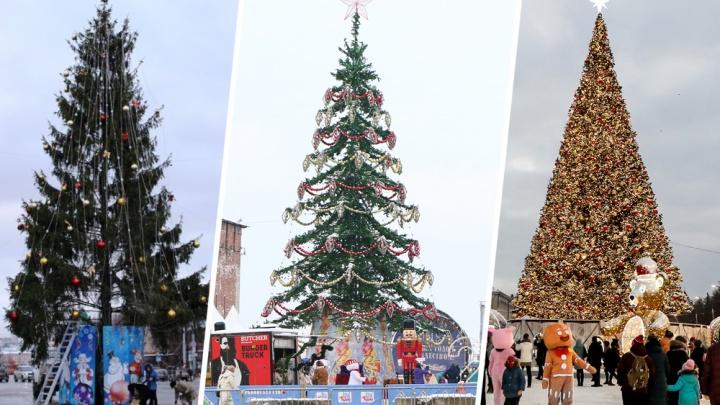Эволюция праздника: вспоминаем, как менялась елка на площади Минина и Пожарского за последние годы