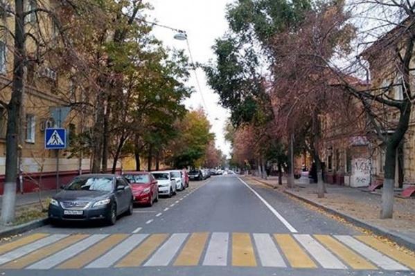 Дорожники успели разметить улицу Ленина