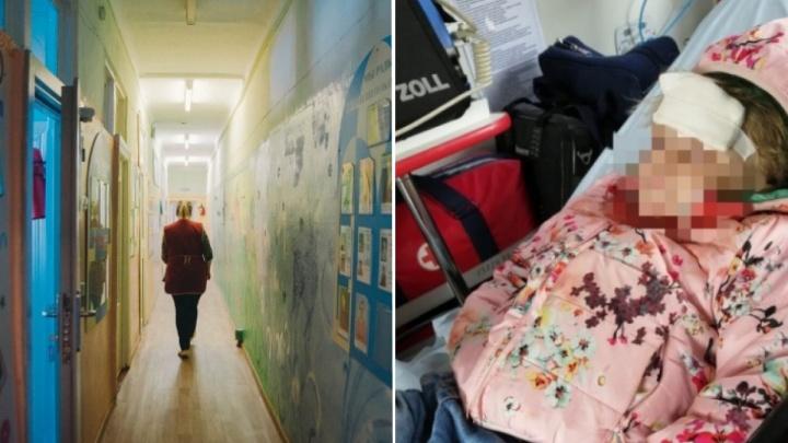 Полиция возбудила уголовное дело в отношении воспитателя, уронившего ребенка в детском саду Тюмени